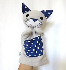 Hračky - Maňuška mačka - Kocúrik z Bodkova - 13625232_