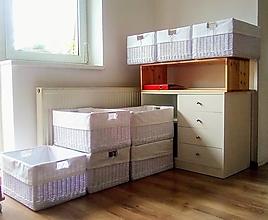Košíky - Šatníkové koše do nového bývania  / ks - 13623541_