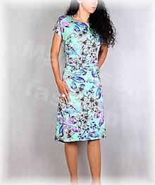 Šaty - Šaty s řasením v pase vz.701 - 13627069_