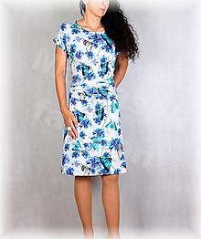 Šaty - Šaty s řasením v pase vz.703 - 13627073_