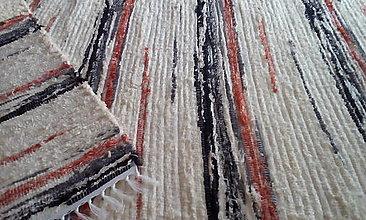Úžitkový textil - Koberček pestrý - 13625345_