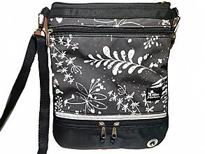 Iné tašky - Taška pre venčenie psov crossbody Mezzanotte - 13627109_