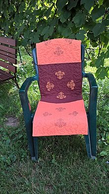 Úžitkový textil - Sedák na záhradnú stoličku - 13625601_