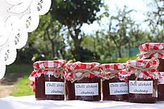 Potraviny - Extra pikantná slivková omáčka - chilli chutney - 13627180_