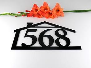 Tabuľky - Popisné číslo: Domček snov - 13626265_