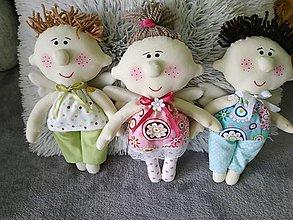 Hračky - Anjeliky peháčiky - 13631306_