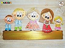 Tabuľky - Menovka - rodinka - 13631761_