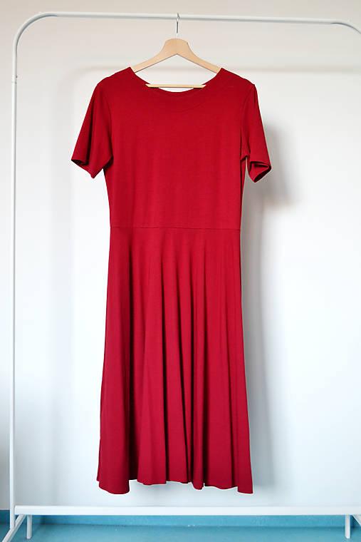 """Bavlnené úpletové šaty """"made for loving you"""""""