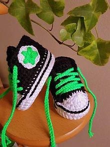 Detské topánky - Tenisky s hviezdičkou - 13634442_