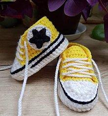 Detské topánky - Tenisky s hviezdičkou - 13634494_
