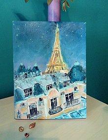 Obrazy - Paris at night - 13632862_
