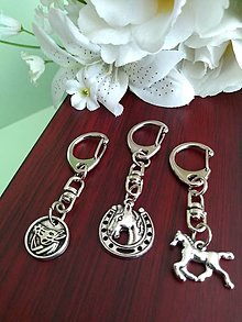 Kľúčenky - Prívesok s koníkom - 13633454_