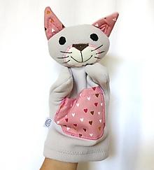 Hračky - Maňuška mačka - Mici zo Sladkého srdiečkova - 13635782_