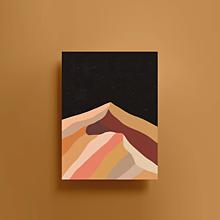 Grafika - Hory | Limitovaná edice - 13634890_