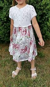 Detské oblečenie - Dievčenské šaty - 13636531_