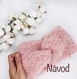 - NÁVOD č. 3 - čelenka SÁRA - 13637523_