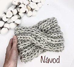 Návody a literatúra - NÁVOD č. 4 - čelenka SNOW - 13637453_