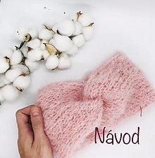 Návody a literatúra - NÁVOD č. 3 - čelenka SÁRA - 13637523_