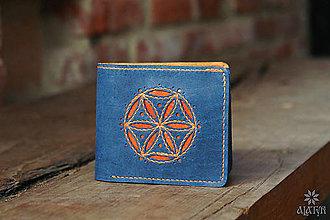 Tašky - Kožená peňaženka VI. •Svarga• - 13639070_