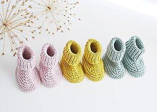 Detské topánky - Papučky pre bábätko - 13641434_