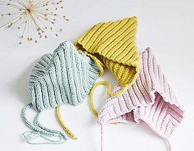 """Detské čiapky - Čiapka """"pixie"""" pre bábätko - 13641496_"""