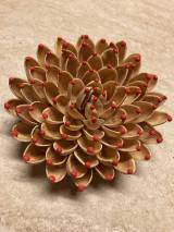 Dekorácie - Pistáciový kvet s  bobuľkami - 13642311_