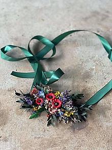 """Opasky - Kvetinový folk opasok """"šťastná s tebou"""" - 13641696_"""