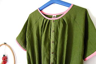 """Šaty - """"mamma"""" šaty ľanové - 13642644_"""