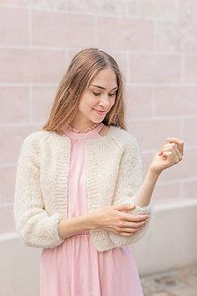 Svetre/Pulóvre - nežný svetrík Beatrice- alpaca, vlna - 13642985_