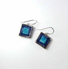 Náušnice - Tana šperky - keramika/platina - 13643259_