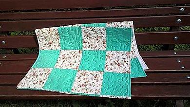 Úžitkový textil - Zástena, mantinel na posteľ - 13644193_