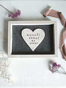 Darčeky pre svadobčanov - Najlepší krstní - 13645117_