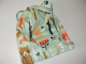 Detské tašky - vrecko na prezuvky - 13644262_