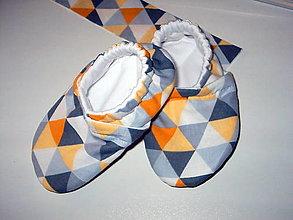 Detské topánky - capačky  skladom - 13645809_