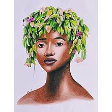 """Kresby - Botanické ArtDeco """"Tep Pralesa"""" - 13643749_"""
