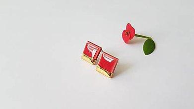 Náušnice - Porcelánové náušničky  - 13648012_
