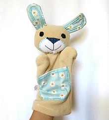 Hračky - Maňuška zajac - Zajačik od Margarétkovej stráne - 13646202_