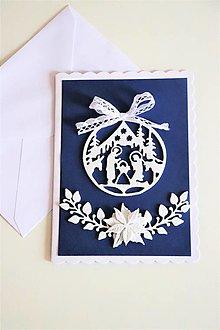 Papiernictvo - Vianočná pohľadnica-Betlehem - 13648270_