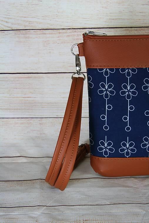 modrotlačová kabelka Dara hrdzavá 2