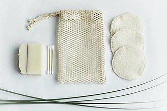 Úžitkový textil - Odličovacie tampóny - De Luxe - 13647793_
