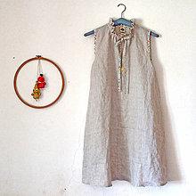Šaty - iffi dospelácke Viktoriánske s výstrihom - 13646001_