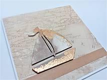 Papiernictvo - Pohľadnica ... v mori života - 13650271_
