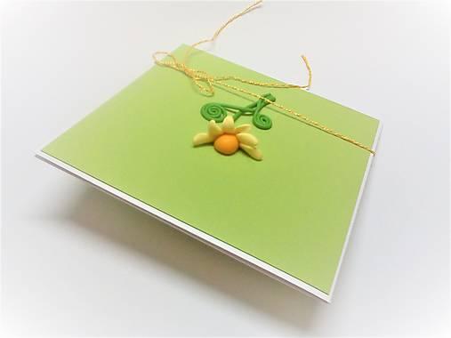 Pohľadnica ... kvetinová