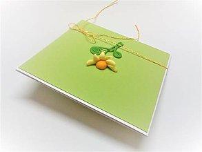 Papiernictvo - Pohľadnica ... kvetinová - 13650262_