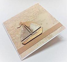 Papiernictvo - Pohľadnica ... v mori života - 13650275_