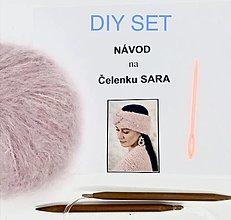 Návody a literatúra - DIY set - čelenka SARA - 13651422_