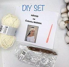 Návody a literatúra - DIY set - čelenka Marina - 13651505_