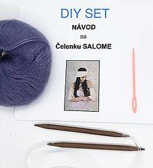 Návody a literatúra - DIY set - čelenka Salome - 13651506_