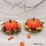 Dekorácie - Jesenná dekorácia - sada 2 ks - 13651867_