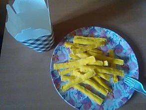 Hračky - Filcové hranolky do kuchynky - 13650906_